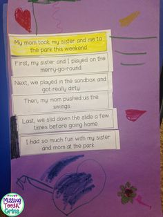 Missing Tooth Grins: Mentor Texts & Opinion Writing & Topic Sentences, OH MY!
