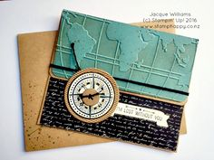 stampin up going global world traveller jacque williams new zealand  This would also make a great travel album cover