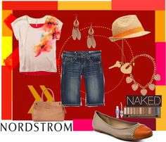 sun by Nordstrom, created by cristina1207 on Polyvore