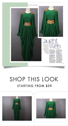 """Caftan Yosika"" by amra-mak ❤ liked on Polyvore featuring caftanyosika"