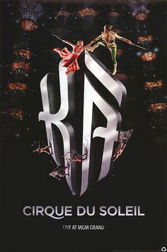 [ CIRQUE DU SOLEIL: LIVE AT THE MGM GRAND POSTER ]