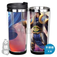 league of legends lol classic skin garen stainless steel coffee cup