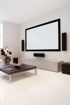Entertainment Room Home Theatre Surround Sound