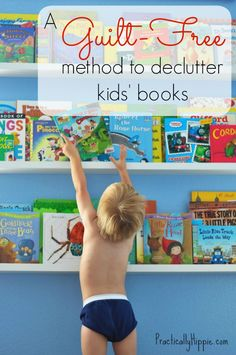 Decluttering children's books. Toys, I can say no to- but I may have a wee book-buying problem....
