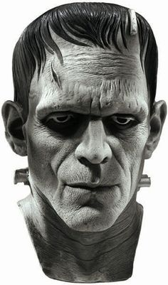New Official Frankenstein Monster Full Head Latex Mask | eBay