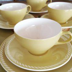 Gul Sissel Figgjo Stavanger, Tea Cups, Tableware, Home Decor, Glass, Homemade Home Decor, Dinnerware, Dishes, Place Settings