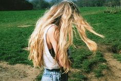 Marlene McKinnon, showing off her grown out hair Taken by Mary MacDonald, who was slightly jealous, Summer 1975