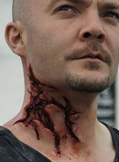 zombie neck wounds - Google Search