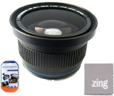 Amazon.com: 52mm 0.40X Super Wide Fisheye Lens For Nikon D90, D3000, D3100, D3200, D5000, D5100, D5200, D7000, D7100, D300, D300s, D600, D700, D800, D800e Digital SLR Cameras Which Has Any Of These Nikon Lenses (18-55mm, 55-200mm, 50mm f1.8) + More!!: Camera & Photo