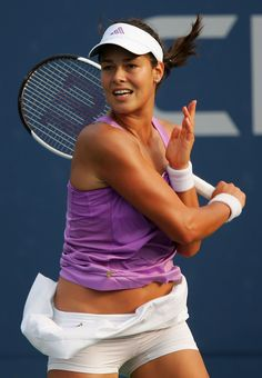 ana ivanovic - I'm ready for some tennis... cause who doesn't want tone arms like this!