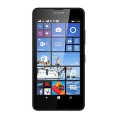 Microsoft Lumia 640 Smartphone débloqué 4G (Ecran : 5 pouces – 8 Go – Double SIM – Windows Phone 8.1) Noir | Your #1 Source for Mobile Phones, MP3 Players & Accessories