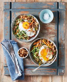 Use leftover rice in this quick and easy Indonesian recipe from Victoria Glass's book Too Good To Waste.