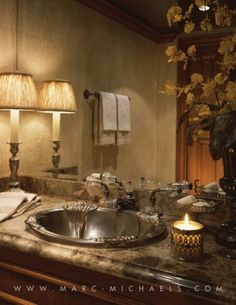Yacht bathroom, Bubba Too - 155' Broward Marine | Marc-Michaels Interior Design, Inc.