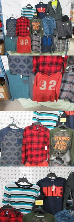Mixed Items and Lots 15620: 18 Lg 10-12 Youth Boys Lots Clothing Plaid Joe Boxer Route 66 Shirts Jacket Hat -> BUY IT NOW ONLY: $85 on eBay!