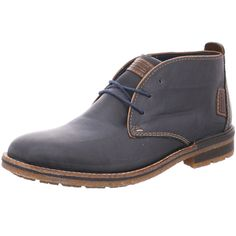 Schnürstiefeletten Rieker Ankle, Boots, Fashion, Comfortable Boots, Get Tan, Blue, Leather, Crotch Boots, Moda