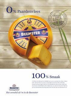Er zit 0% paardenvlees in Beemster kaas. #Inhaker naar aanleiding van de commotie rond paardenvlees in rundvleesproducten.