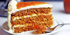 Низкокалорийные рецепты: Морковный торт с бананово-творожным кремом | Быстрая диета
