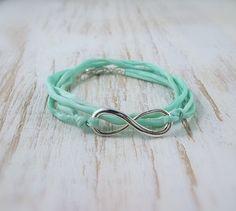 Infinity Bracelet    Silver infinity Jewelry door PearlAmourJewels, $25.00