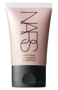 "NARS Illuminator - the BEST highlighter for your eyes, cheekbones, etc. I love this mixed as a ""skin cocktail"": mix foundation, sunblock and a dab of this illuminator on the palm of you hand and blend. Apply with a foundation sponge or brush.. You will glow like all of us @Barb Anderson Dermatology."