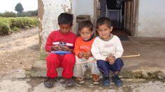 Niños campesinos, Cómbita, Boyacá, Colombia