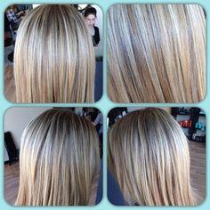 #demaj #demajsalon #eriesalon #coloradosalon #highlights #lowlights #blonde #summerhair #wellahair #hair