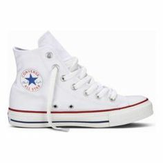 bbf5555f014 Rock a cool classic in Chuck Taylor High Top by Converse! It s  the   timeless sneaker featuring a canvas upper with a traditional white lace-up
