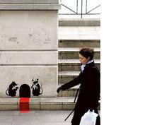 Banksy - Night Club for Rats Banksy Work, Bansky, Amazing Street Art, Street Art Graffiti, Chalk Art, Urban Art, Illustration, Digital Art, Gallery