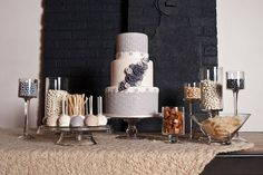 Photography : Keri Doolittle Photography | Event Design & Styling : Talia Events | Floral Design : Bella Fiori Events | Cakes : Intricate Icings Cake Design Read More on SMP: http://www.stylemepretty.com/2011/04/01/denver-photo-shoot-by-keri-doolittle-photography-talia-events/