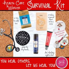 #PerfectlyPosh Health Care Worker Survival Kit │ www.poshbytessa.com