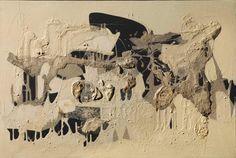 "jareckiworld:""Alberto Burri - Muffa (oil and pumice stone on canvas, Alberto Burri, Modern Art, Contemporary Art, Italian Painters, Hereford, Color Stories, Muted Colors, Yorkie, Vintage World Maps"