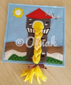 OFNAH - 6X6 & 8X8 RAPUNZEL'S TOWER ITH QUIET BOOK PAGE
