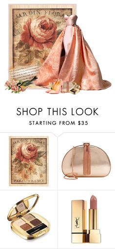 """""""La Jardin"""" by flowerchild805 on Polyvore featuring Ted Baker, Dolce&Gabbana, Yves Saint Laurent and Christian Louboutin"""