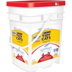 Purina Tidy Cats LightWeight Clumping Litter 24/7 Performance for Multiple Cats 17 lb. Pail (3pail) >>> Want to know more, click on the sponsored image.
