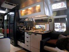 Christopher Deam redesigns airstream trailer interior
