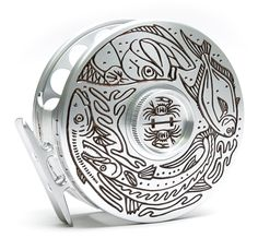 Hatch 9 plus Into the Flats Limited Edition Lance Boen Reels for Fly Fishing