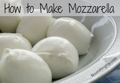 How to Make Mozzarella Cheese; in my future home I want to be as close to zero-waste as possible, and I HATE buying packaged cheese.  I've made cheese in the past and its fun and tastey, so I hope in my future home I can make my own; save money and trash, but certainly not time.