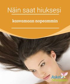 Näin saat hiuksesi kasvamaan nopeammin   Leikkautitko hiuksesi vähän liian lyhyiksi? Vai oletko vain #kyllästynyt #lyhyeen tukkaan? Jos haluat hiustesi kasvavan nopeammin, jatka tämän artikkelin lukemista. Kerromme sinulle kuinka saat hiuksesi kasvamaan pitkiksi nopeammin eräillä #luonnollisilla vinkeillä   #Kauneus