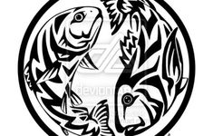 Tribal Fish Tattoos Designs
