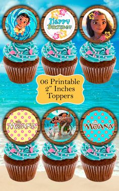 ❤ WELCOME TO LYTHIUM ART SHOP! ❤ PRINCESS MOANA DECOR KIT This is a GREAT KIT!!! Unique printables with the most beautiful design for a very special Moana Birthday Party. Print as many as you need! ❤ This listing is for an INSTANT DOWNLOAD ❤ Once payment is completed, you will receive: ° 1 ZIP File with JPEG FILES: 01 high quality image (300 dpi) Food Tent (Blank) NO EDITABLE 06 high quality images (300 dpi) Toppers 2 NO EDITABLE 01 high quality image (300 dpi) Water Bottle Label 8.5 x 2 ...