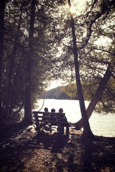 Three Boys on a Bench @DinkerGiggles #greenlakesstatepark #cny #vacation #hiking #nature