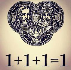 Tres personas distintas y un sólo Dios verdadero
