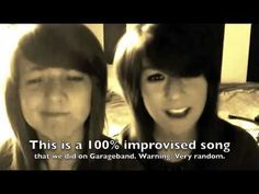 'HeHe, HeHe'- Above All That Is Random 1 - Sarah & Christina Grimmie