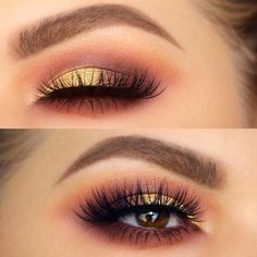Pick the best combination of eyeshadow for brown eyes, and you will be the queen in every room you enter. Check out our photo gallery.: