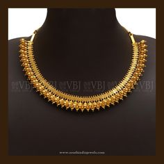 Simple Gold Necklace Designs, 22K Simple Necklace Models, Simple Gold Necklace Catalogue.