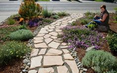 Path Idea - Flagstone River