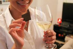 What can be better than a Chocolate & Wine party with friends? @BiancaGarcia   Confessions of a Chocoholic