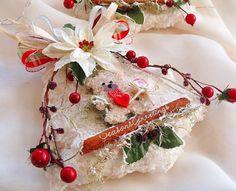 Regalo etiquetas Abedul copos de nieve del árbol de navidad por cranberrydreams