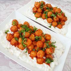 Appetizer Salads, Appetizers, Turkish Salad, Turkish Recipes, Ethnic Recipes, Tasty, Yummy Food, Chana Masala, Veggie Recipes