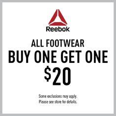 All Footwear BOGO $20
