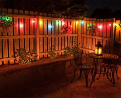 lighted tree canopy picture -- outdoor patio lighting ideas ... - Outdoor Patio Lights Ideas